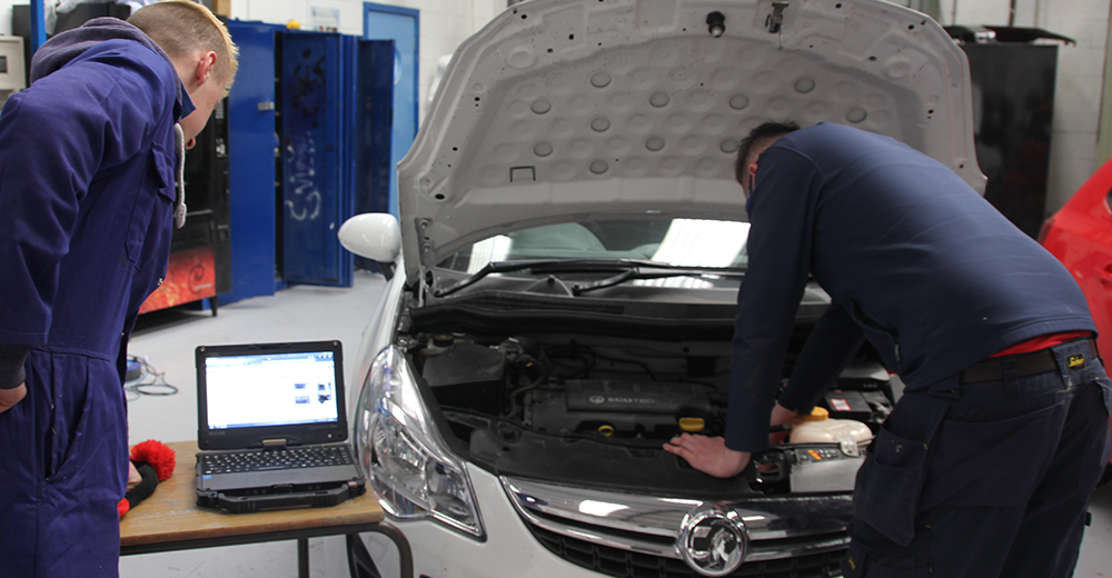 Vehicle Parts apprenticeship course at Riverpark Training Northern Ireland
