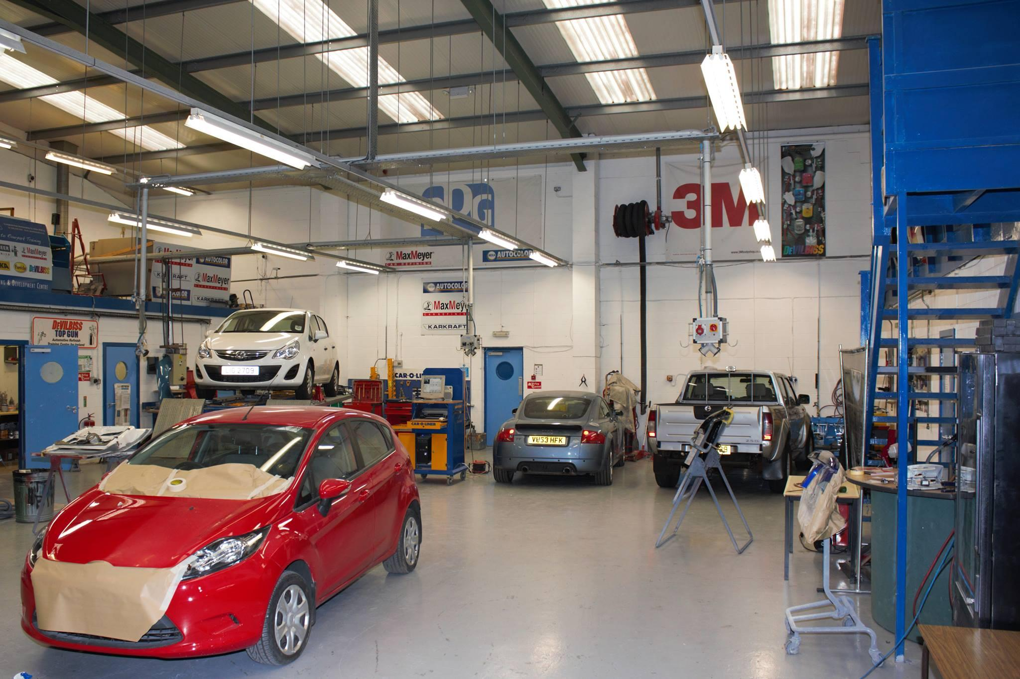 Vehicle Refinishing apprenticeship course at Riverpark Training Northern Ireland